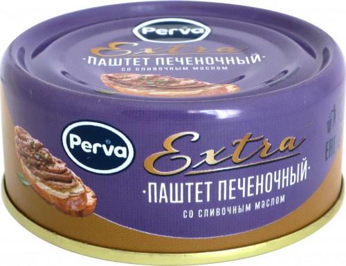 Паштет печеночный со сливочным маслом Perva Extra