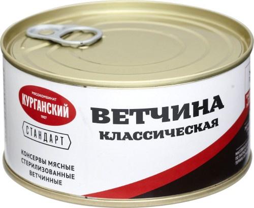Мясные консервы Стандарт УД-11032 Банка с ключом, 325