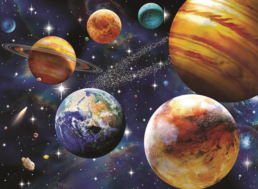 Пазл Ravensburger Парад планетXXL 100 шт коробка арт.10904