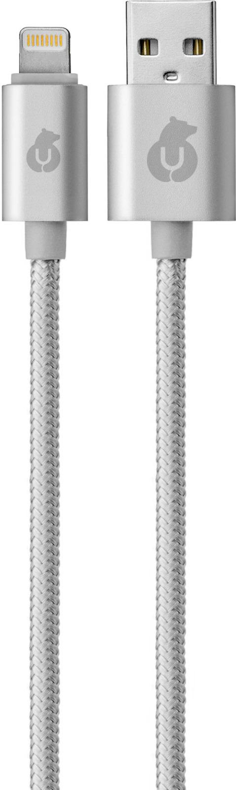 uBear Lightning-USB, Gray кабель Apple Lightning цена