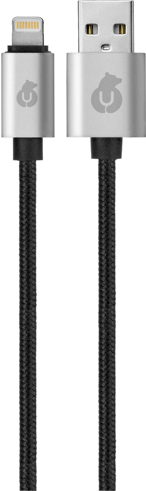 uBear Lightning-USB, Black кабель Apple Lightning цена