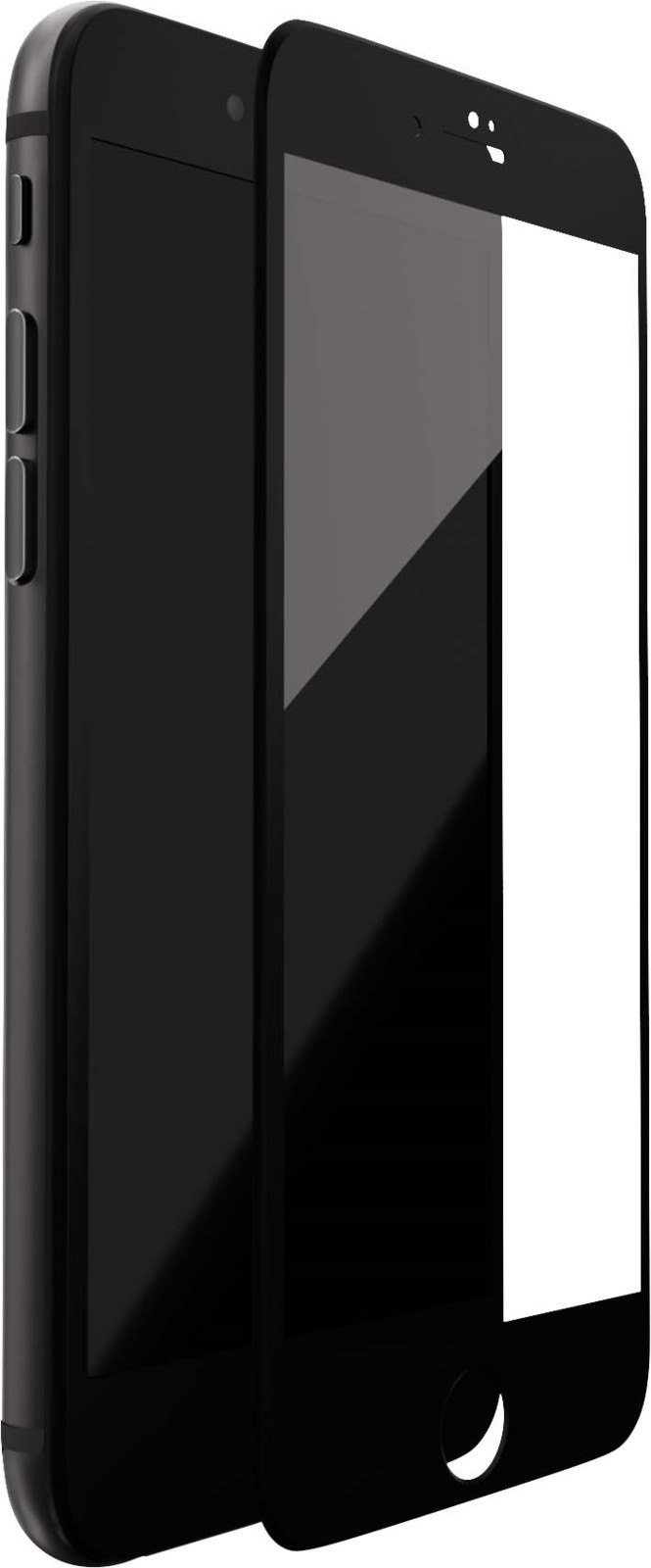 uBear Full Cover Premium Glass 3D защитное стекло для iPhone 7 Plus, Black