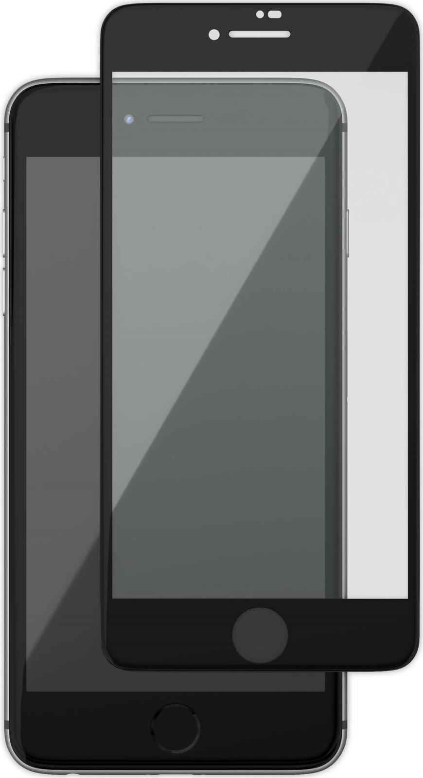 uBear GL14BL03-I8P защитное 3D стекло для Apple iPhone 8 Plus/ 7 Plus, Black