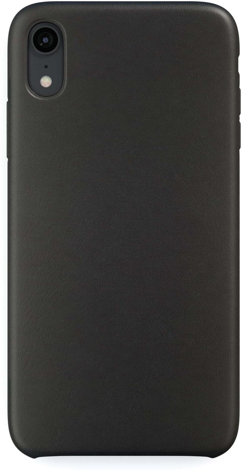 Чехол защитный uBear Capital Leather Case для iPhone XR, CS42BL01-I18, черный original view window flip pu leather case cover for uhappy up920