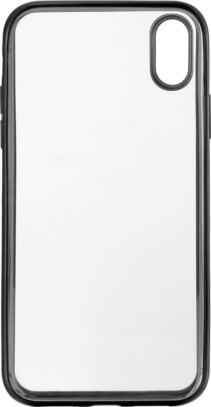 Чехол защитный uBear Frame Case для iPhone XR, CS36BL01-I18, прозрачный локк rock iphone7 телефон оболочки apple 7 кронштейн силиконовый прозрачный tpu защитный рукав кронштейн оболочки