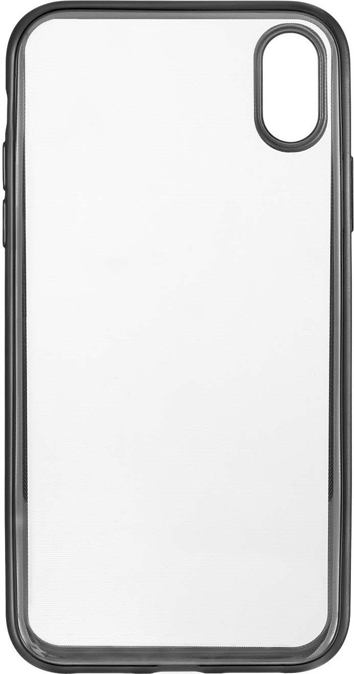 Чехол защитный uBear Frame Case для iPhone XR, CS36SL01-I18, прозрачный локк rock iphone7 телефон оболочки apple 7 кронштейн силиконовый прозрачный tpu защитный рукав кронштейн оболочки