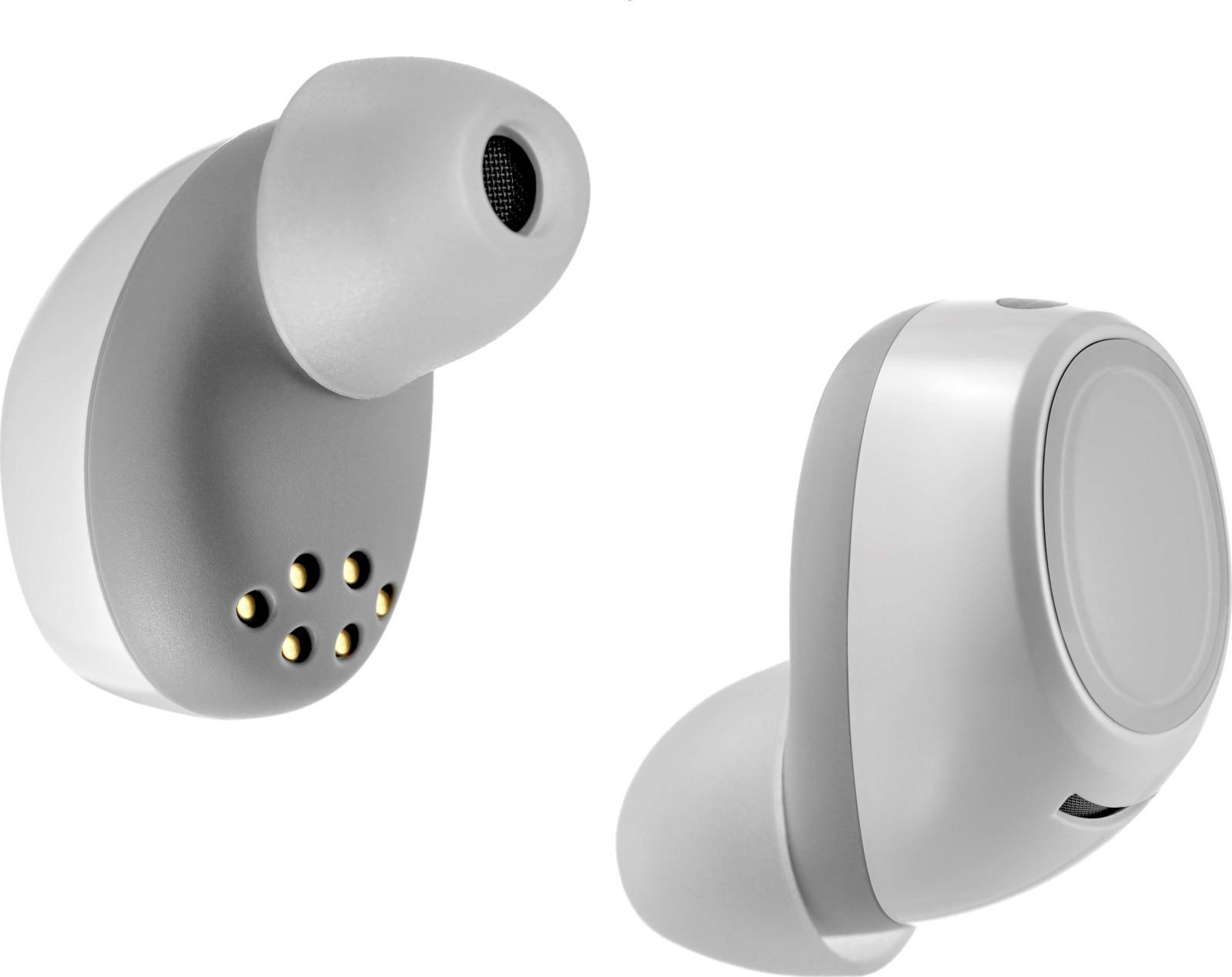 Наушники беспроводные uBear True Wireless Play, TW01WH01-BD, белый микроволновая печь horizont 20mw700 1479bkb