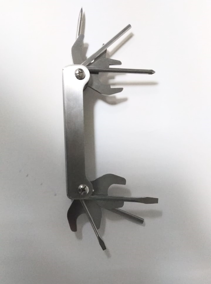 Набор инструментов OK00057, серый металлик отвертки ермак отвертка под ключ