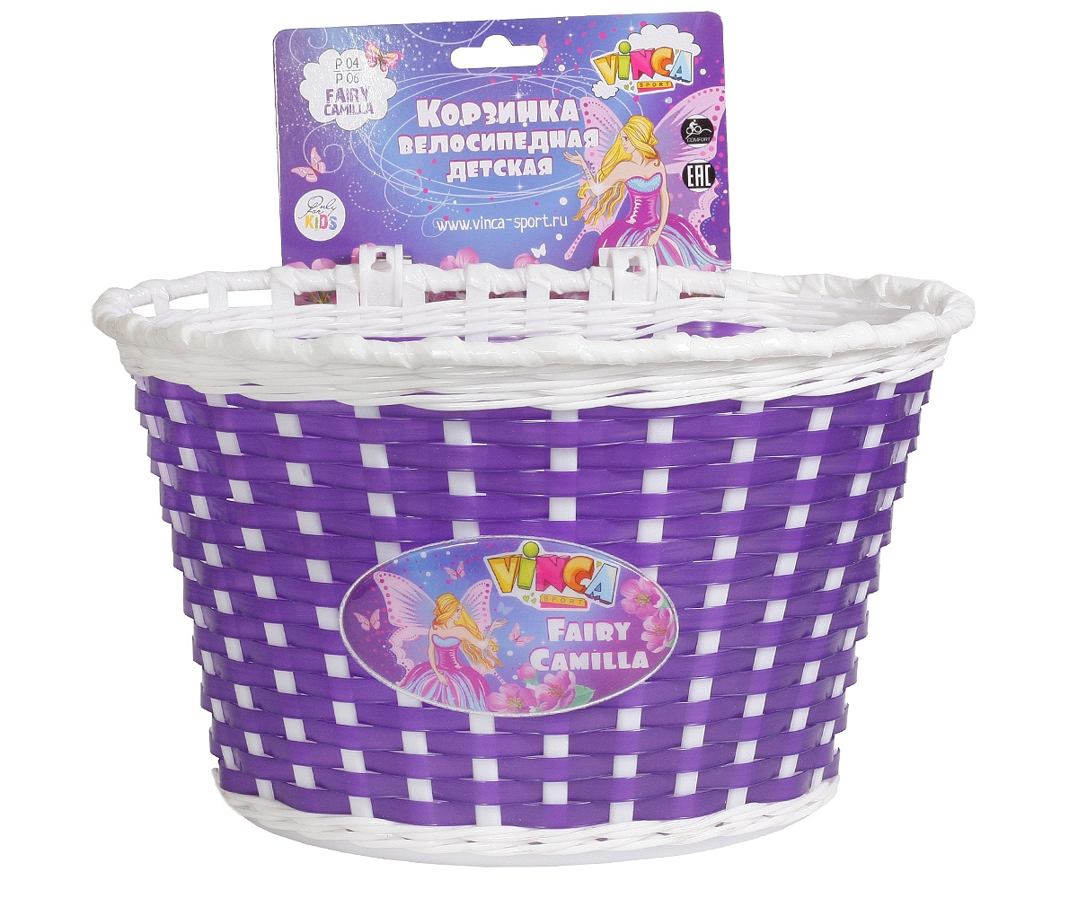 Велокорзина VS Fairy Camilla, фиолетовый цена