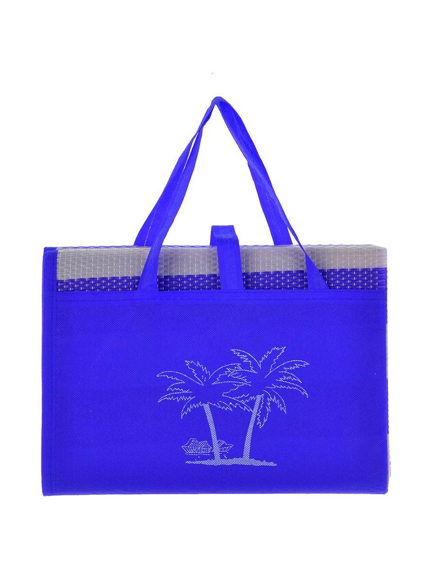 Коврик туристический Migliores Пляжный коврик с ручками для переноски, синий