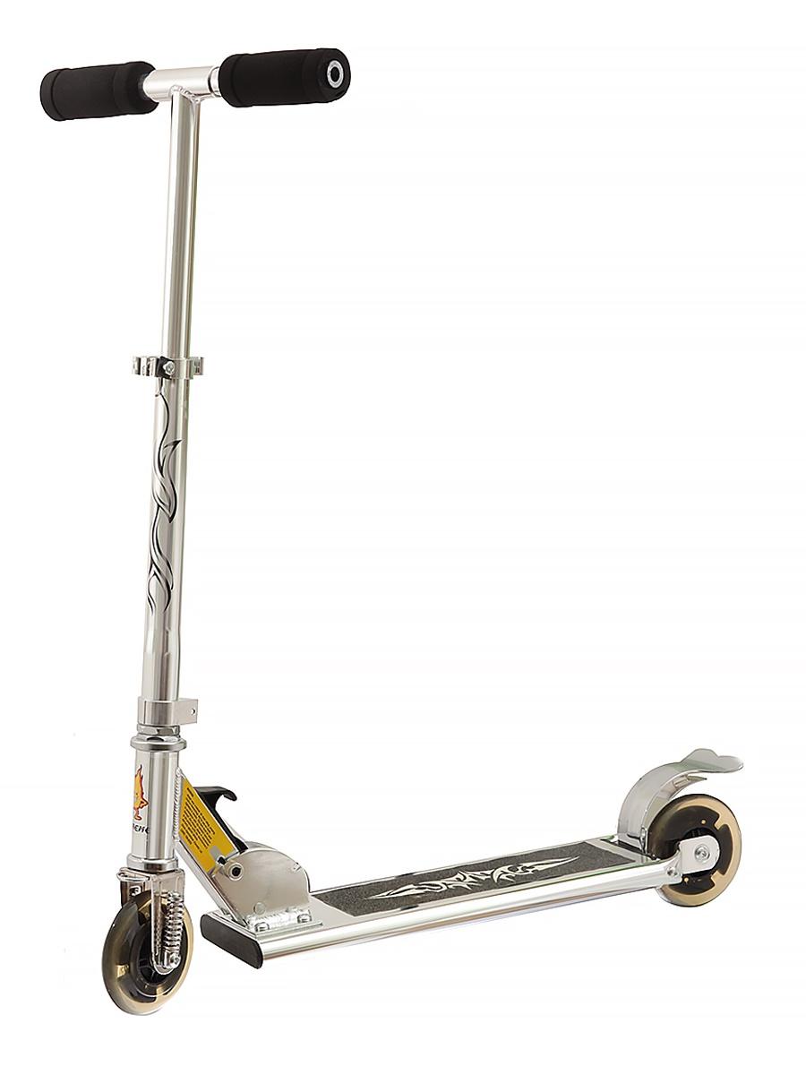 Самокат JOEREX для подростков SC-2004S/серебристый, серебристый