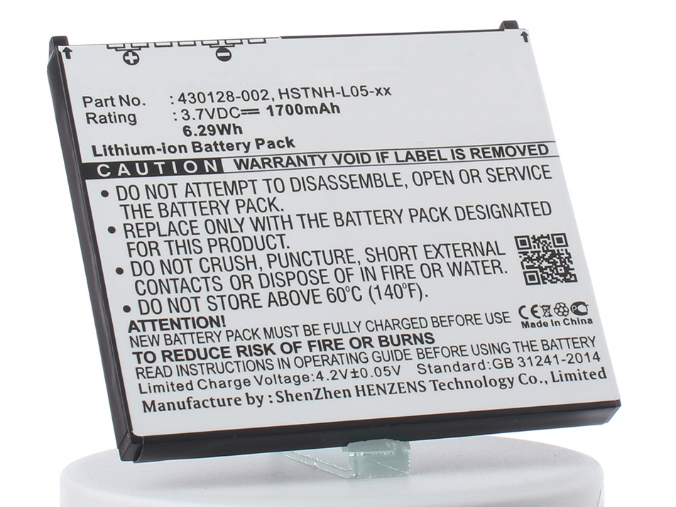 Аккумулятор для телефона iBatt iB-HP-iPAQ-316-M101 кабель hp ipaq 1950 2110 2190 2210 2410 2490 3715 4700