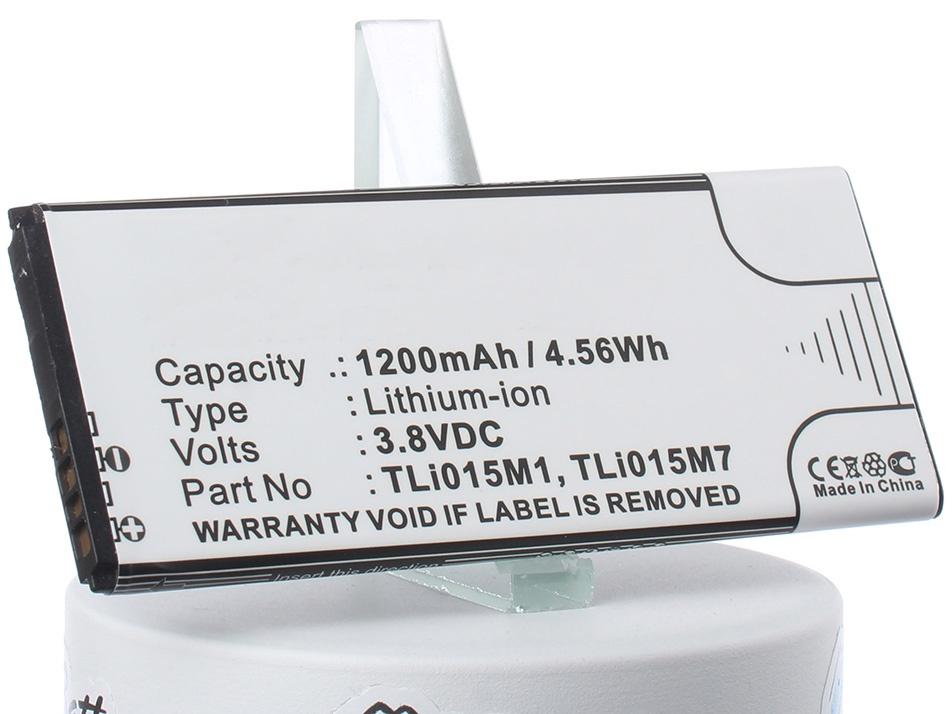 Аккумулятор для телефона iBatt iB-Alcatel-OT-4034D-M1222 аккумулятор для телефона ibatt ib tli015m1 m1222