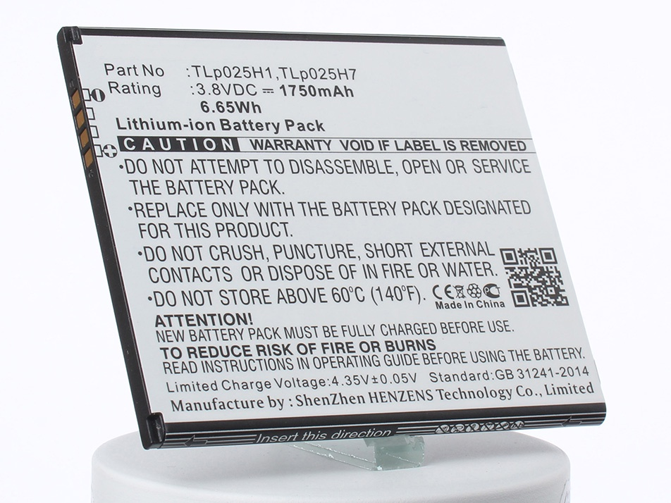 Аккумулятор для телефона iBatt iB-Alcatel-One-Touch-POP-4-M1229 alcatel pop 3 5065d белый