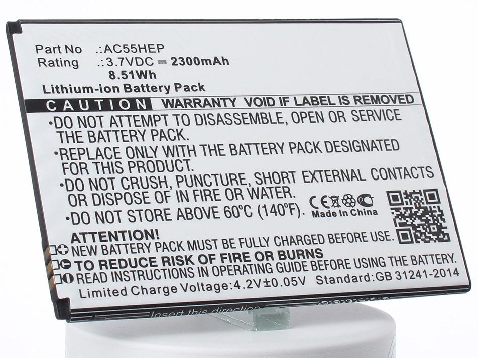 Аккумулятор для телефона iBatt iB-Archos-A55-Helium-M1296 цена