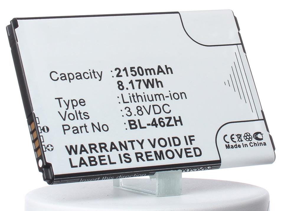 Аккумулятор для телефона iBatt iB-LG-AS330-M1347 аккумулятор для телефона ibatt ib lg d855 g3 m719