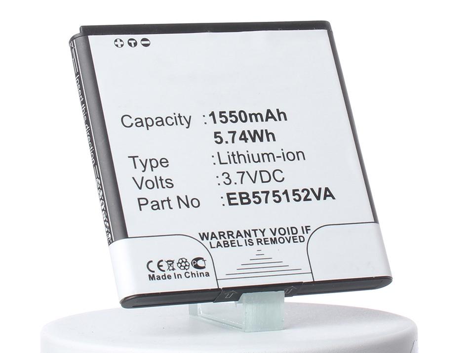 Аккумулятор для телефона iBatt iB-EB575152VA-M1351 аккумулятор для телефона ibatt ib wiko rainbow 4g m933