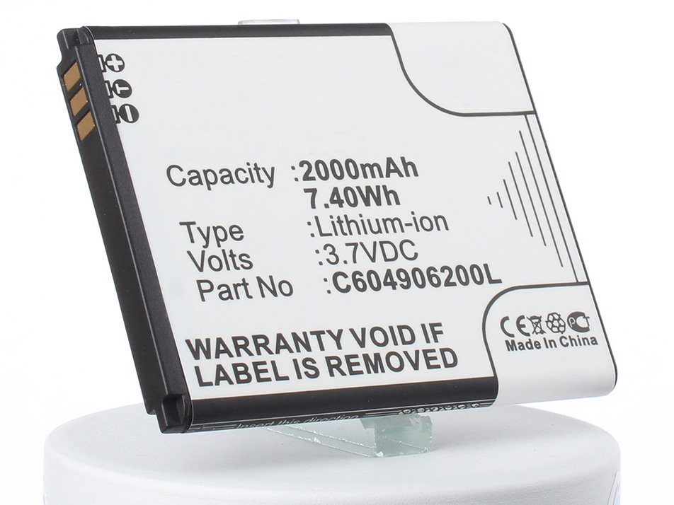 Аккумулятор для телефона iBatt iB-C604905200T-M1474 аккумулятор для телефона ibatt ib rhod160 m248