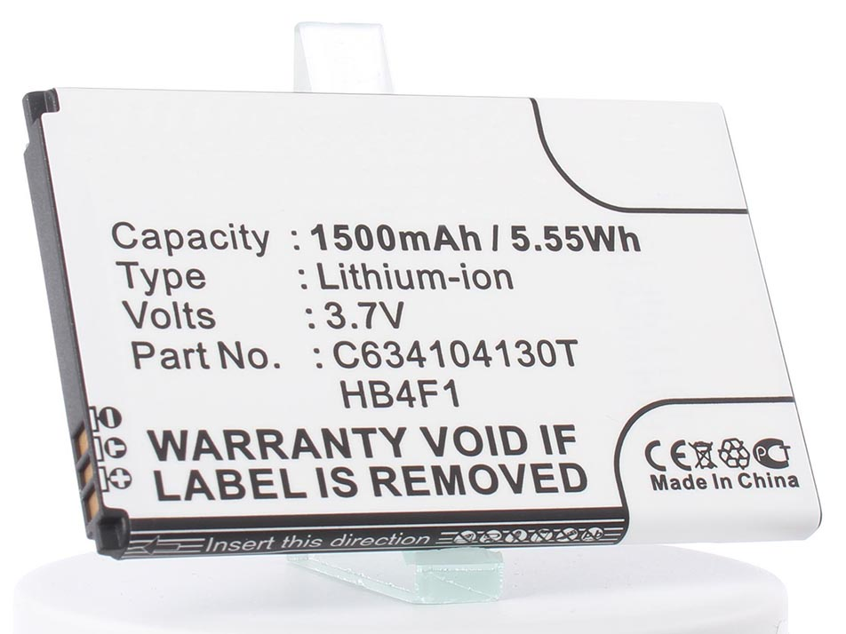 Аккумулятор для телефона iBatt iB-HWBAF1-M170 аккумулятор для телефона ibatt ib wiko rainbow 4g m933