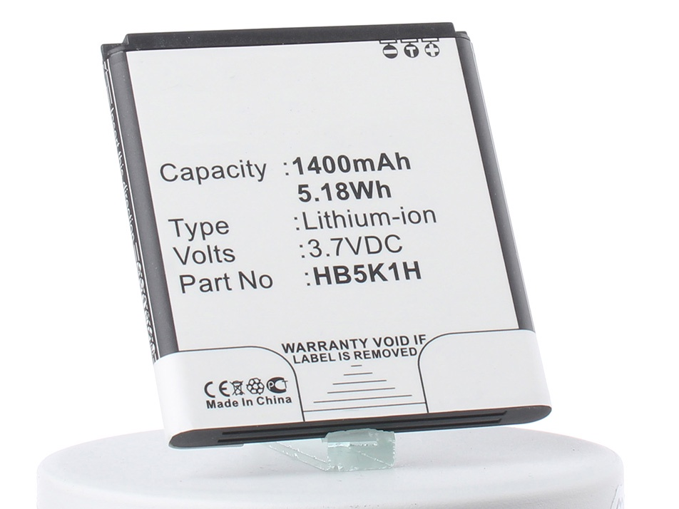 Аккумулятор для телефона iBatt iB-CS-HU8650XL-M176