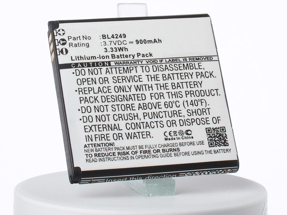 Аккумулятор для телефона iBatt iB-Fly-E157-M1762 аккумулятор для телефона ibatt ib rhod160 m248