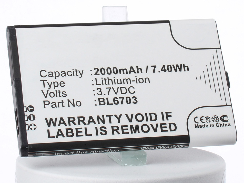 Аккумулятор для телефона iBatt iB-Fly-TS110-M1766 аккумулятор для телефона ibatt ib li3817t43p3h595251 m612