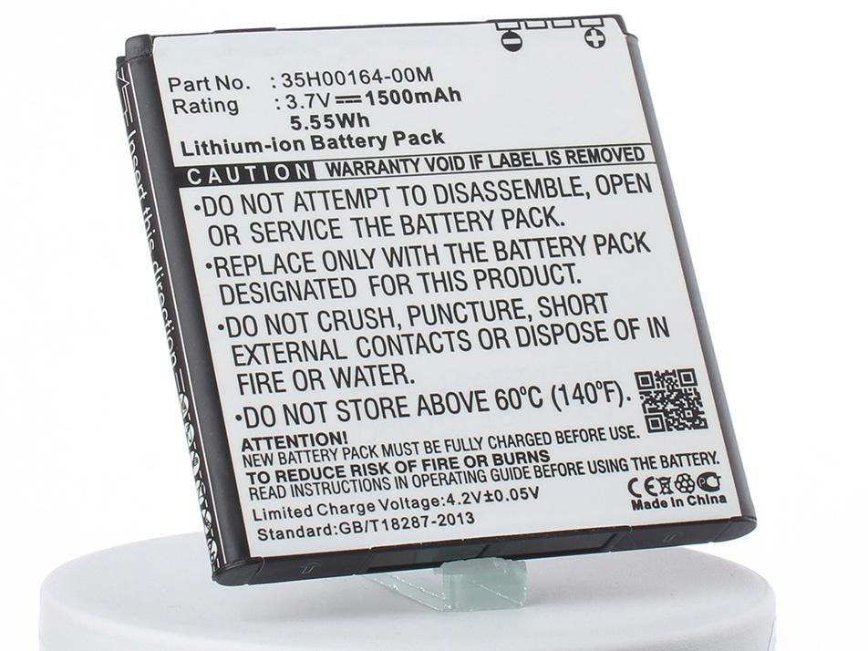 Аккумуляторная батарея iBatt iB-35H00166-00M-M1939 1500mAh. аккумулятор для телефона ibatt ib bg86100 m1939