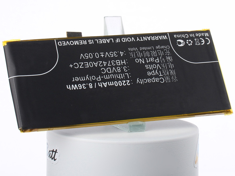 Аккумулятор для телефона iBatt iB-Huawei-ALE-L04-M1982 аккумулятор для телефона ibatt ib huawei dav 703l m1981