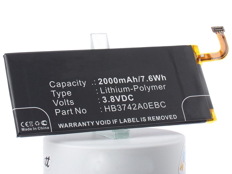 Аккумуляторная батарея iBatt iB-CS-HUP600SL-M214 2000mAh. аккумулятор для телефона ibatt ib hb3742a0ebc m214