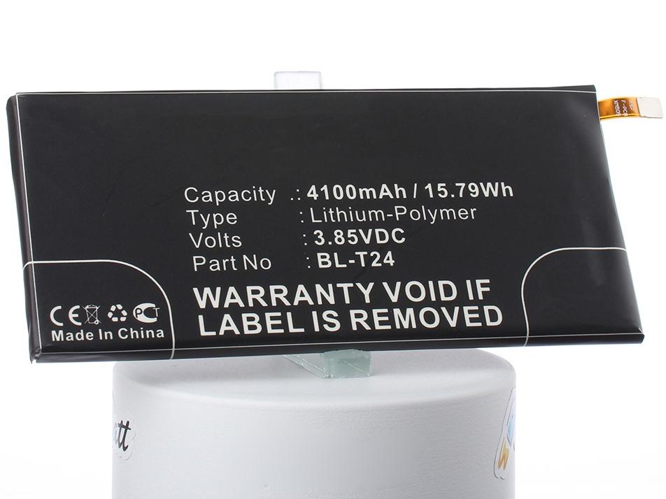 Аккумуляторная батарея iBatt iB-EAC63358901-M2166 4100mAh. аккумулятор для телефона ibatt ib lg k220ds m2166