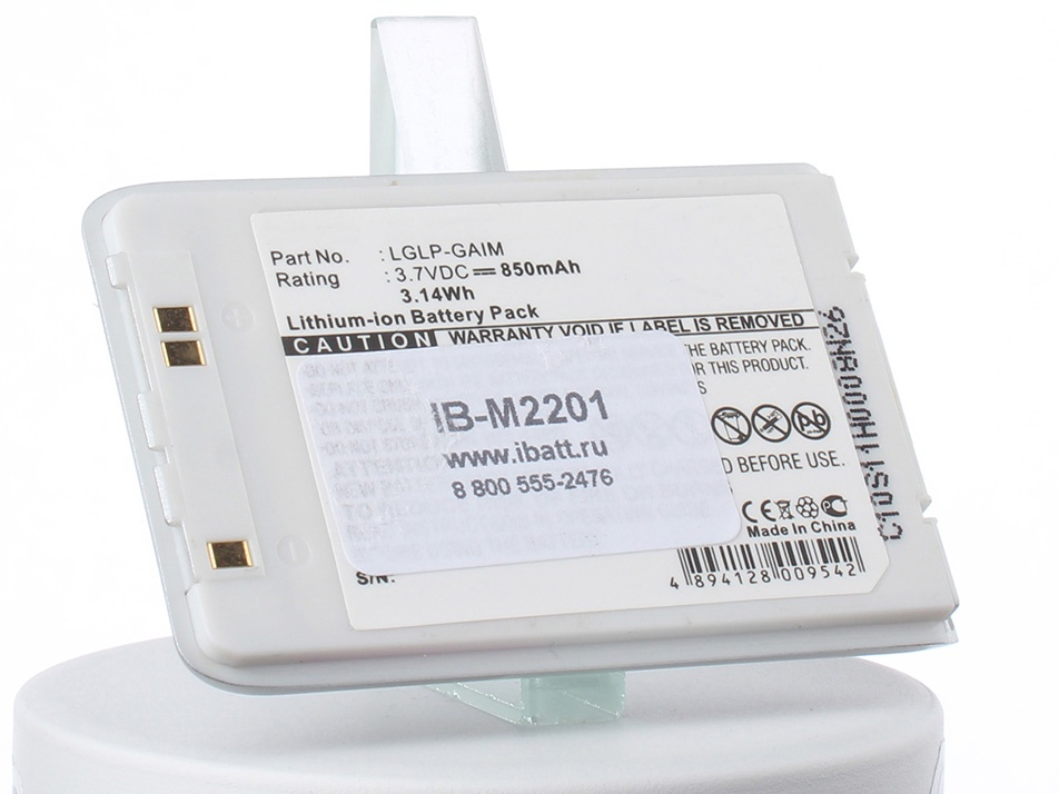 Аккумулятор для телефона iBatt iB-LG-M6100-M2201 аккумулятор для телефона ibatt ib lg f720s m2152