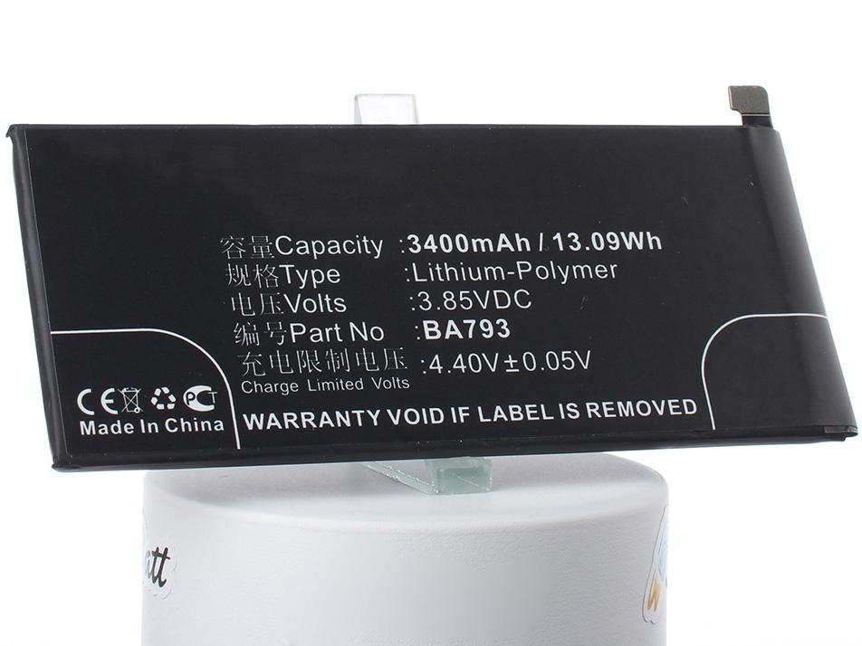 Аккумулятор для телефона iBatt iB-MeiZu-Pro-7-Plus-M2241 аккумулятор для телефона ibatt ib ba793 m2241