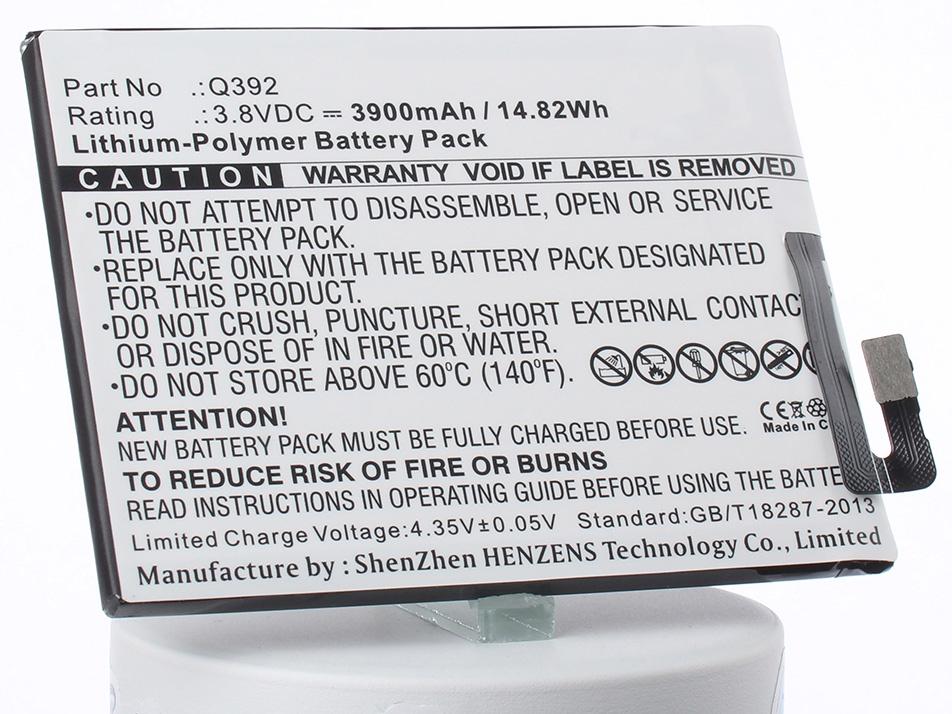 Аккумулятор для телефона iBatt iB-Micromax-Q392-M2263 смартфон micromax q4251 canvas juice a1 4g 8gb champagne gold