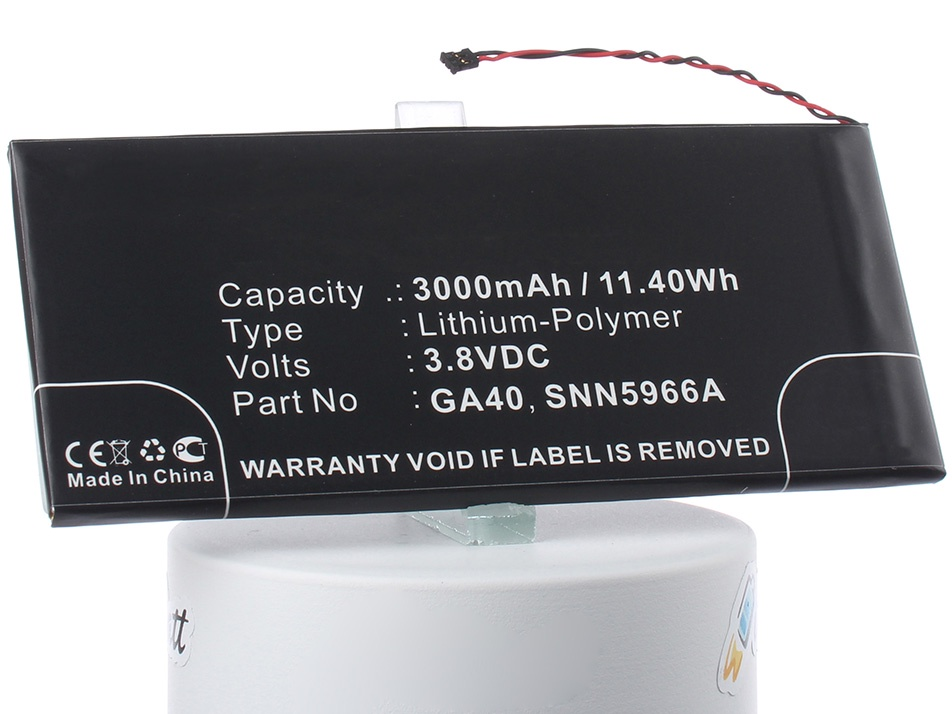 Аккумулятор для телефона iBatt iB-SNN5966A-M2305 аккумулятор для телефона ibatt hc60 для motorola moto c plus xt1723 moto c plus dual sim