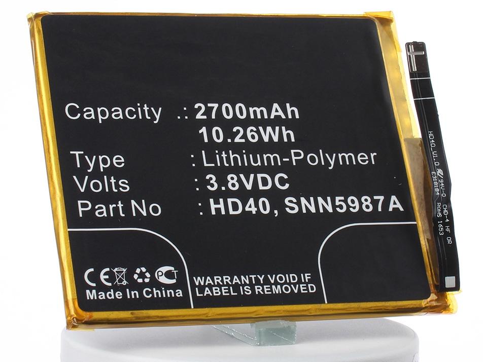 Аккумулятор для телефона iBatt iB-SNN5987A-M2313 аккумулятор для телефона ibatt hc60 для motorola moto c plus xt1723 moto c plus dual sim