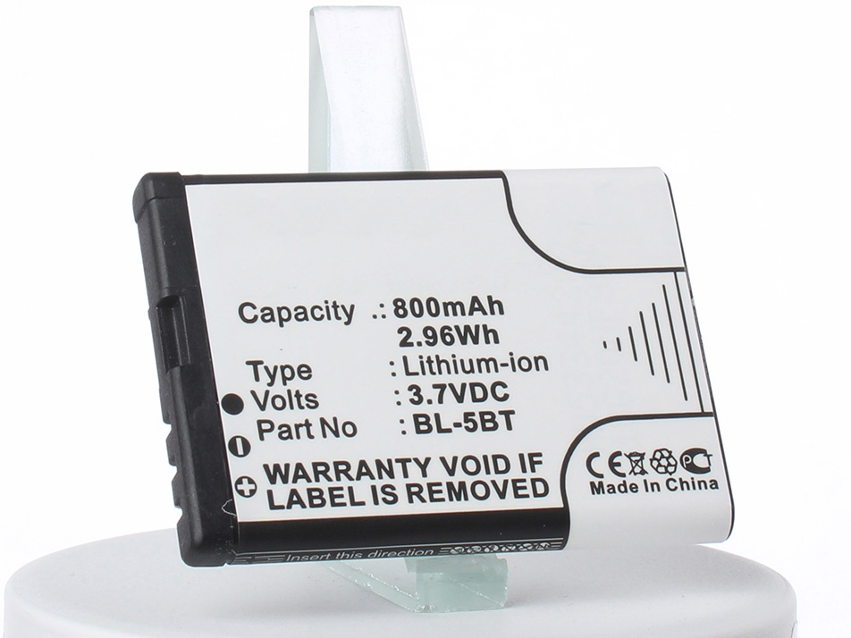 Аккумулятор для телефона iBatt iB-Nokia-7510-Supernova-M2361 алкотестер 7510 с принтером цена