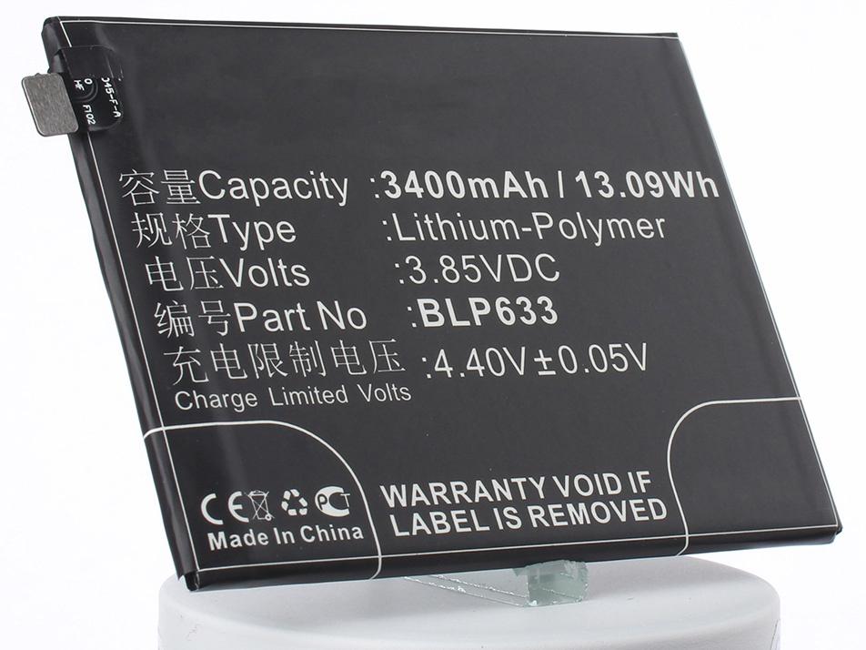 Аккумулятор для телефона iBatt iB-Oneplus-A3010-M2392