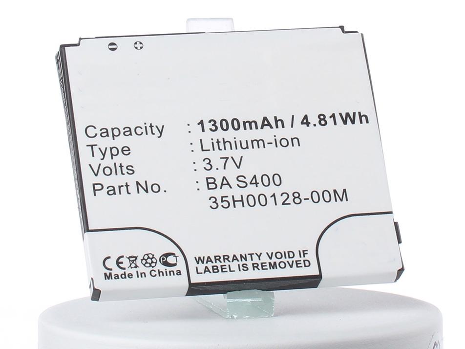 Аккумулятор для телефона iBatt iB-BA-S400-M241 аккумулятор для телефона ibatt bb81100 cs ht8585sl ba s400 для htc hd2 leo 100 hd2 htc t8585 leo leo