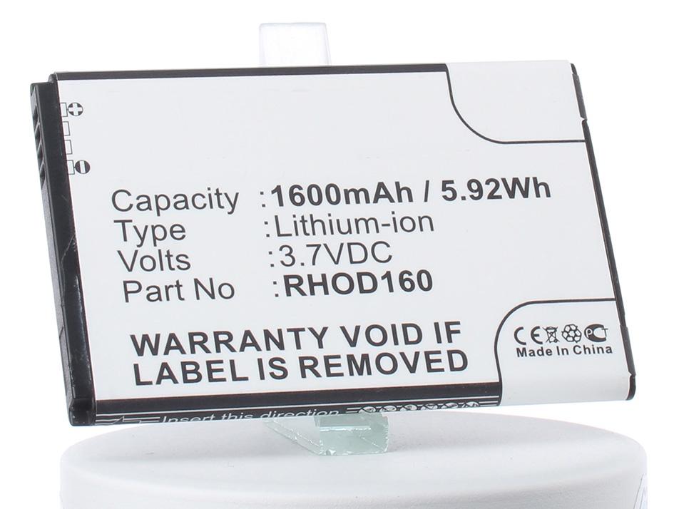 Аккумулятор для телефона iBatt iB-RHOD160-M248 аккумулятор для телефона ibatt ib rhod160 m248