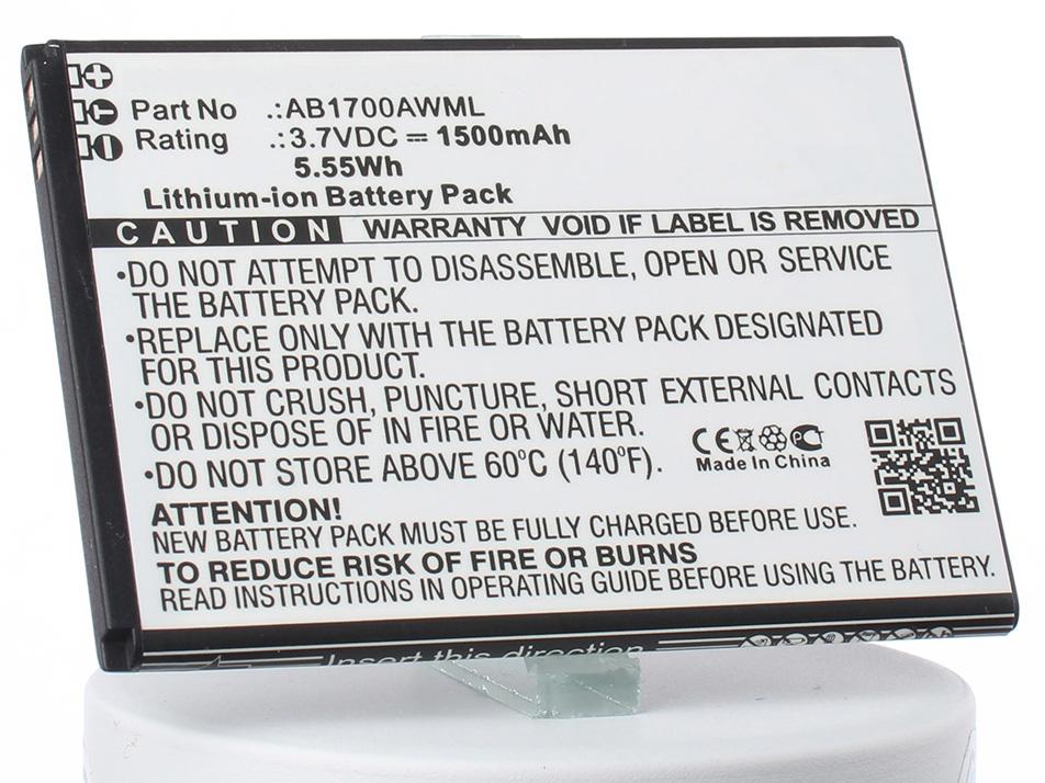 Аккумулятор для телефона iBatt iB-Philips-S388-M2532 аккумулятор для телефона ibatt ib bopl4100 m941