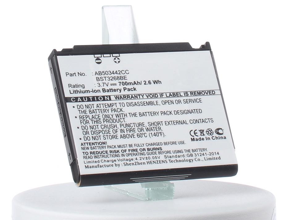 Аккумулятор для телефона iBatt iB-AB503442CC-M257 аккумулятор для телефона craftmann ab503442ce для samsung sgh d900 a767 f480 f488