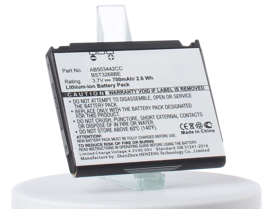 Аккумулятор для телефона iBatt iB-Samsung-SGH-D900i-M257 аккумулятор для телефона craftmann ab503442ce для samsung sgh d900 a767 f480 f488
