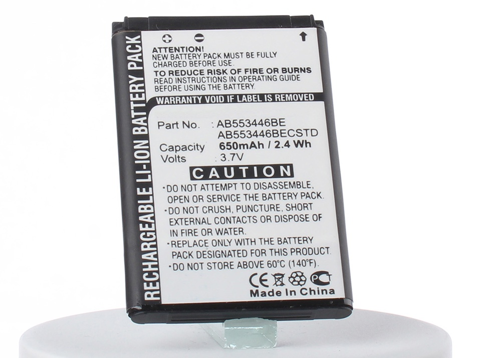 Аккумулятор для телефона iBatt iB-Samsung-GT-B2100-M2636