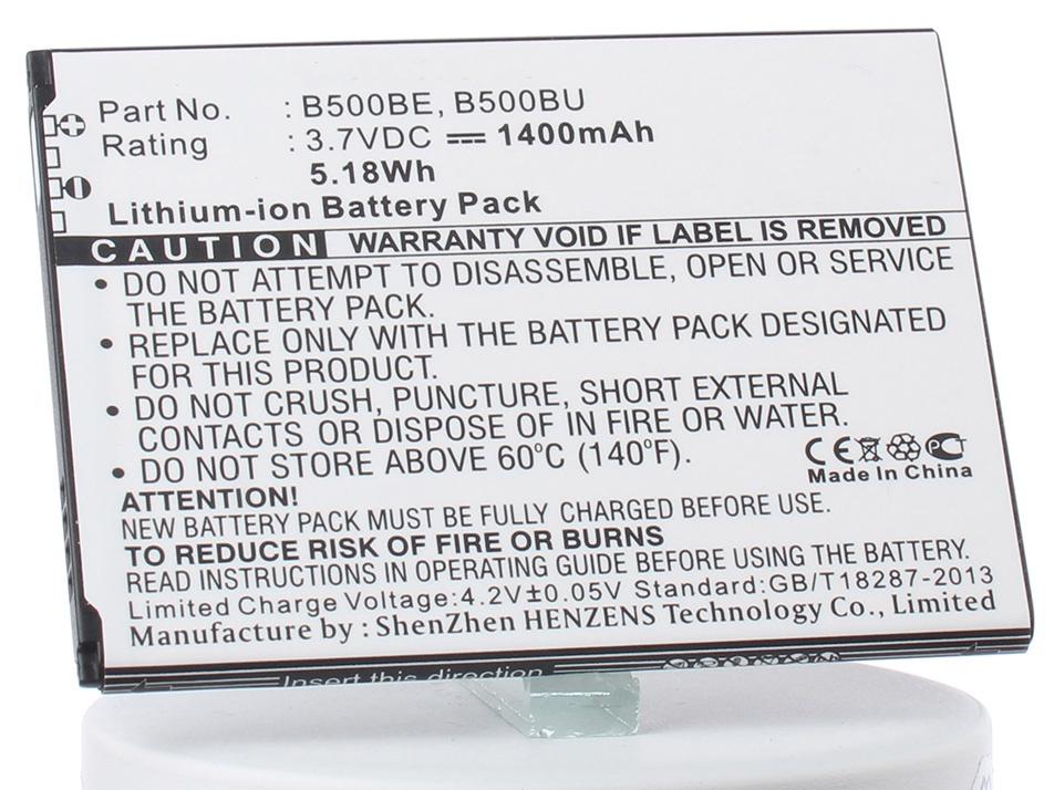 Аккумулятор для телефона iBatt iB-B500BU-M2658 аккумулятор для телефона ibatt ib samsung galaxy s4 m533
