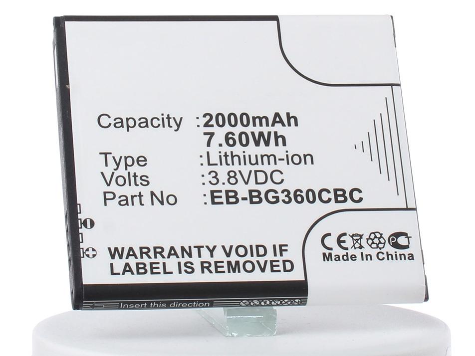 Аккумулятор для телефона iBatt iB-EB-BG360BBE-M2715 аккумулятор для телефона ibatt ib eb l1f2kvk m1039