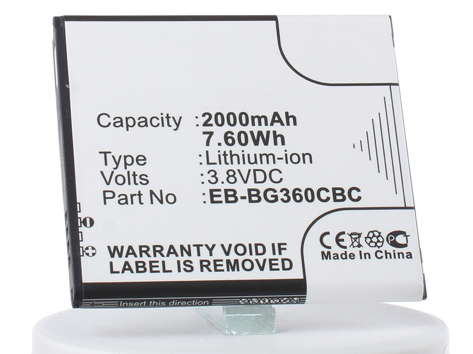 Аккумулятор для телефона iBatt iB-Samsung-Galaxy-Core-Prime-M2715