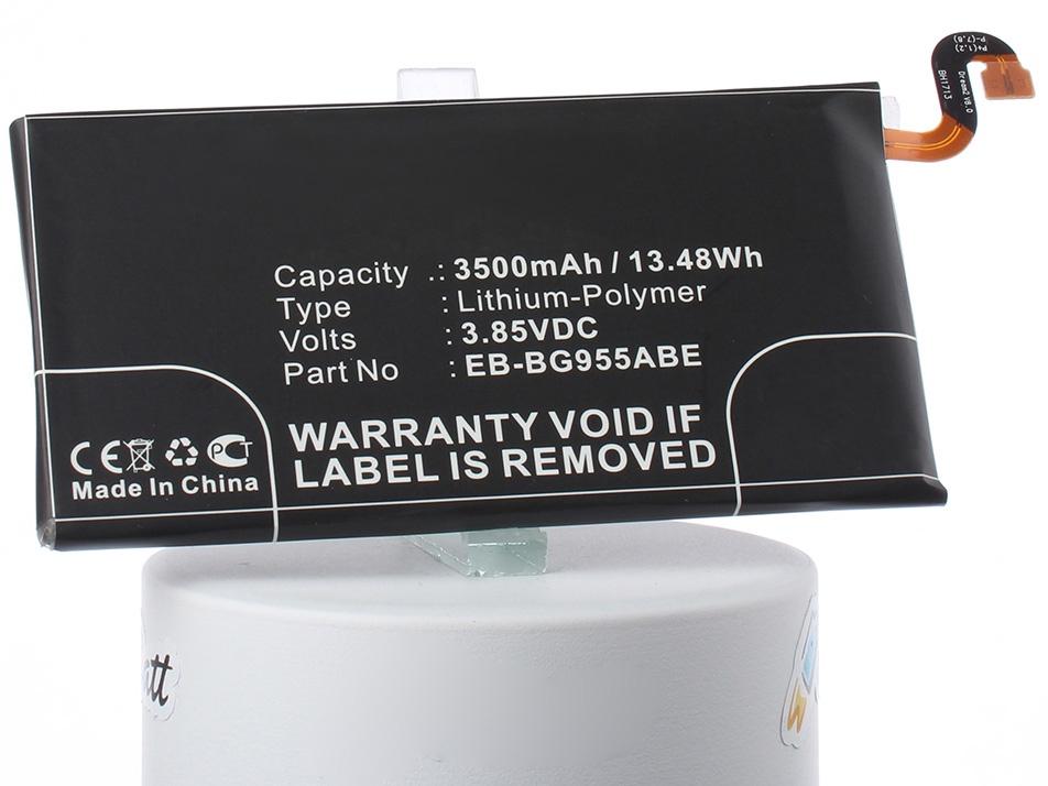 Аккумуляторная батарея iBatt iB-EB-BG955ABE-M2727 3500mAh. аккумулятор для телефона ibatt ib eb bg955aba m2727