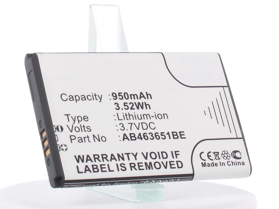 Аккумулятор для телефона iBatt iB-AB463651BE-M278 игры для samsung corby