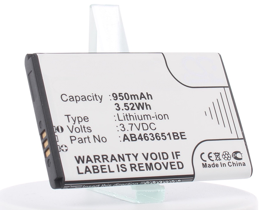 Аккумулятор для телефона iBatt iB-AB463651BEC-M278 аккумулятор для телефона craftmann ab474350du для samsung gt b5702 duos sgh i560 sgh p960
