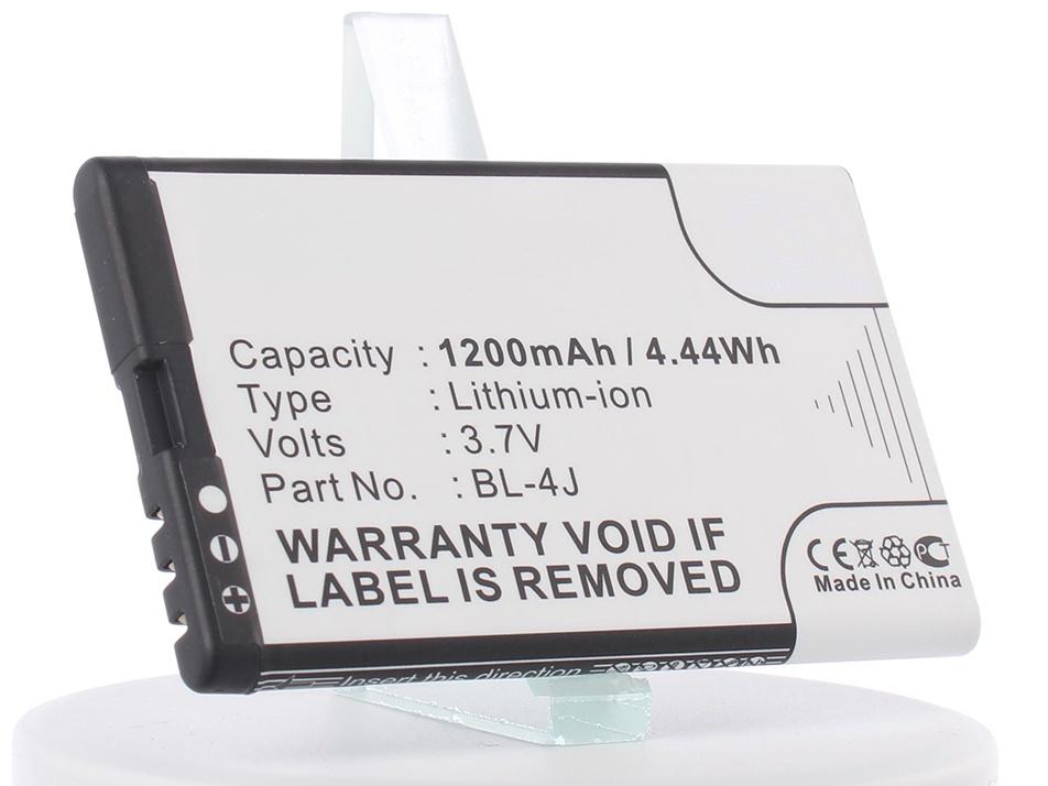 Аккумулятор для телефона iBatt iB-Nokia-5228-M284 аккумулятор для телефона craftmann bl 4j для nokia c6 c6 00 nokia 600 lumia 620